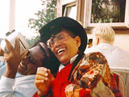 """Gloria Joseph and Audre Lorde from the cover of Joseph's book, """"Wind is Spirit."""" (Submitted photo)"""