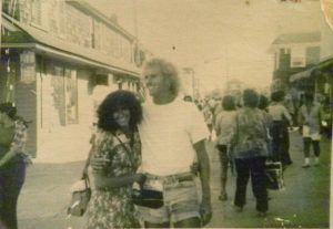 Mike Greaves locally known as 'Mike The Surf' in the 1970s. (Photo provided by Don Edwards)