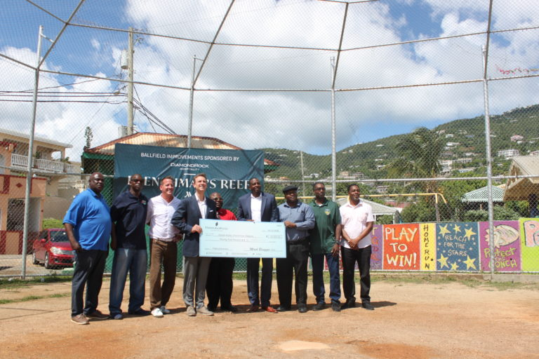 Marriott Owners Donate to Renovate Frenchtown's Ballfield