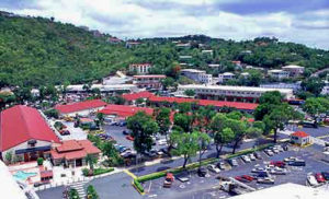 Havensight Mall in Charlotte Amalie.