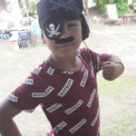Isis Gell swaggers in her pirate costume. (Source photo by Darshania Domingo)