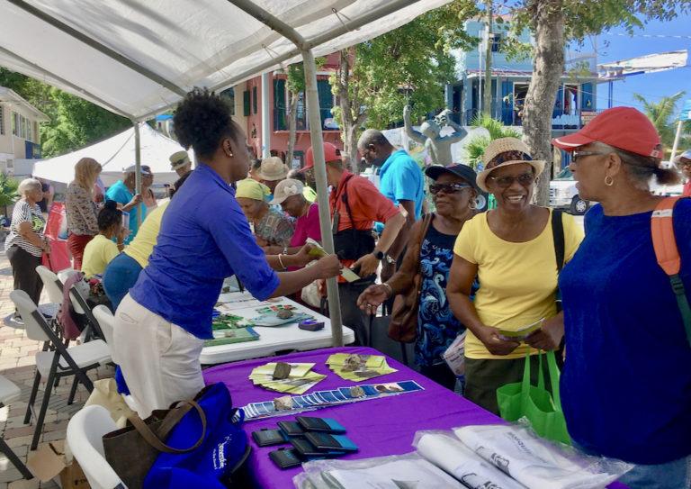 STJ Residents Net Advice at Health Fair