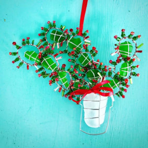 A Christmas Cactus by Lea Ann Robson Sea Glass. (Submitted photo)