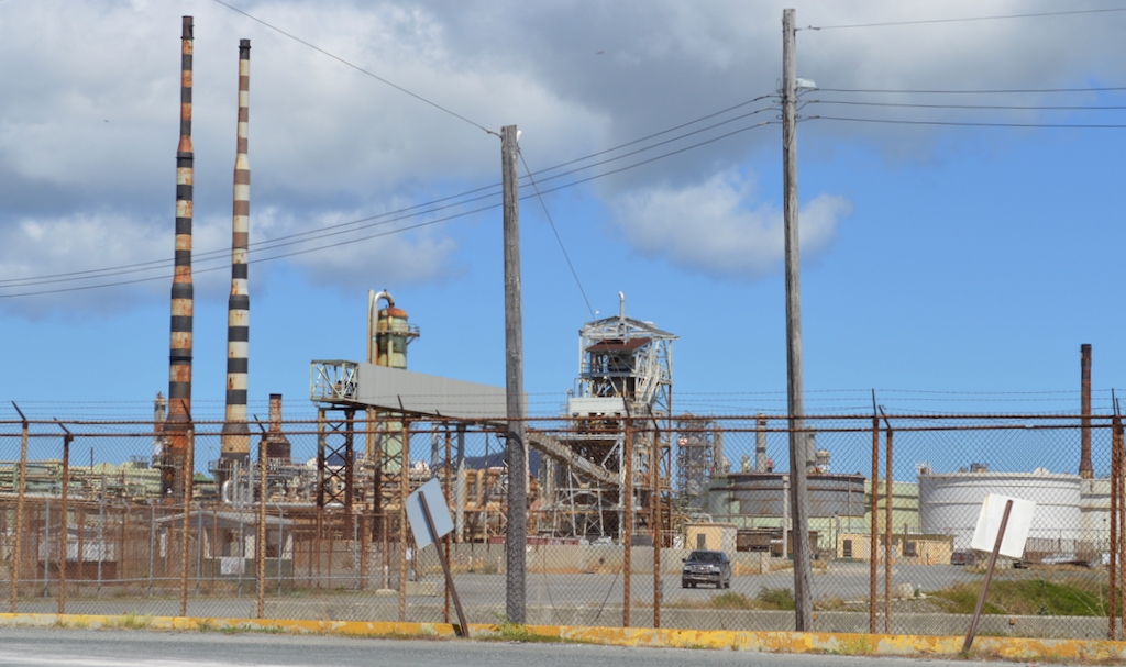 The former Hovensa refinery as it appeared in March 2019 as Limetree Bay Refining was working toward partially restarting oil refining operations. (Source file photo by Bill Kossler)