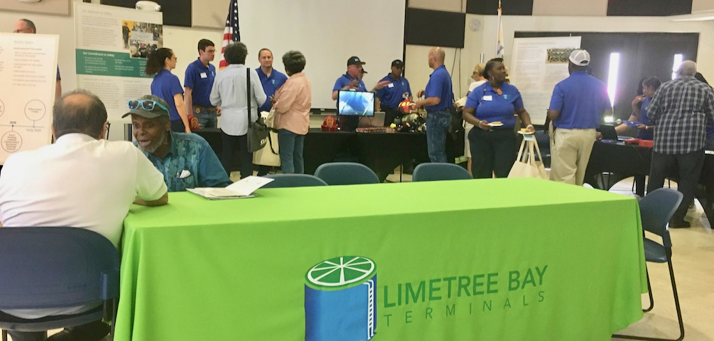 Limetree Bay holds open house for the community Saturday. (Source photo by Susan Ellis)
