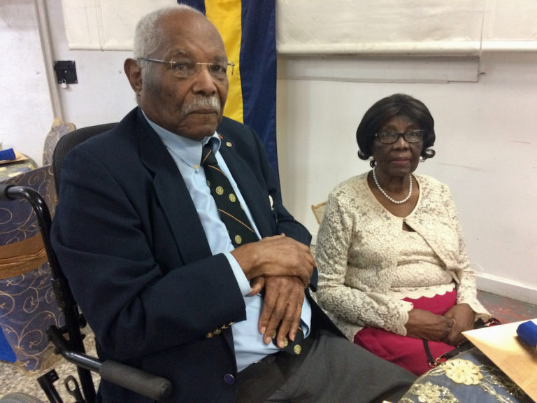 Edgar Iles Honored by Rotary West  for 50 Years of Service