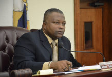Sen. Athneil Thomas suggested the bill could end up paying for itself. (File photo by Barry Leerdam for the V.I. Legislature)