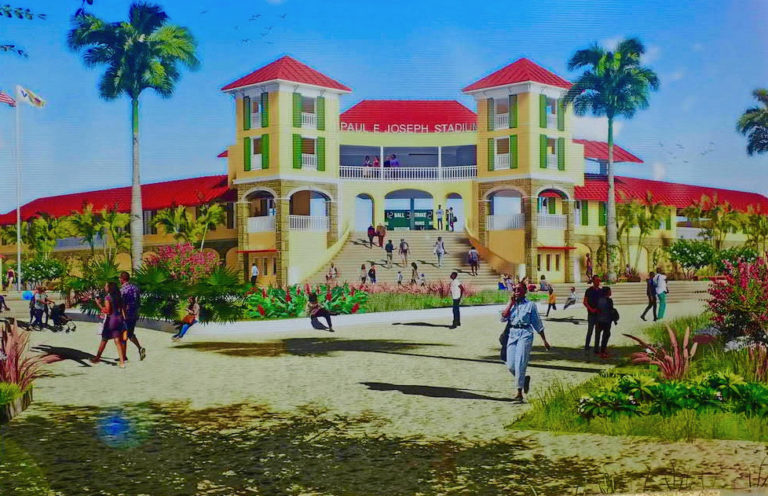 Paul E. Joseph Stadium Construction Awaits Permit