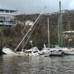 In 2017 sunken yachts lined Brenner Bay, St. Thomas, 2017. (Source file photo)