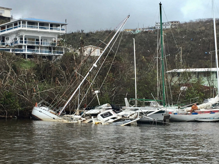 Debris Removal from Territory Coastlines Making Strides