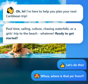 5. The Tantie App is like an Uncommon Caribbean travel guide.