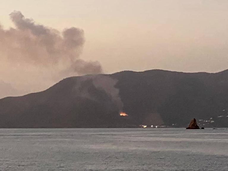 Tortola Dump Fire Brings Misery to St. John Residents