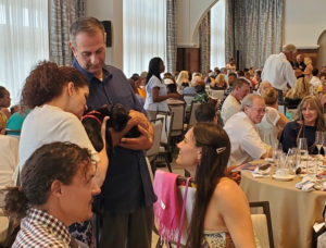 Hundreds of people filled the newly remodeled Ritz-Carlton to raise funds for the Humane Society. (Photo submitted by Annette Zachman)