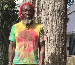 """Iyaba Ibo Mandingo will bring his dramatic presentation, """"Voices of the Street,"""" to Frederiksted this weekend. (Source photo by Elisa McKay)"""