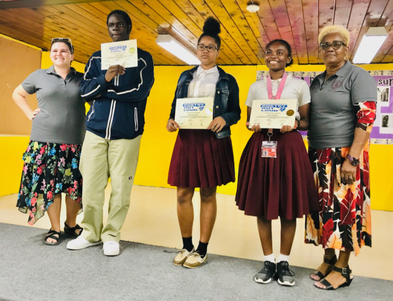 Navaro Wins 'Poetry Out Loud' for STX Central High School