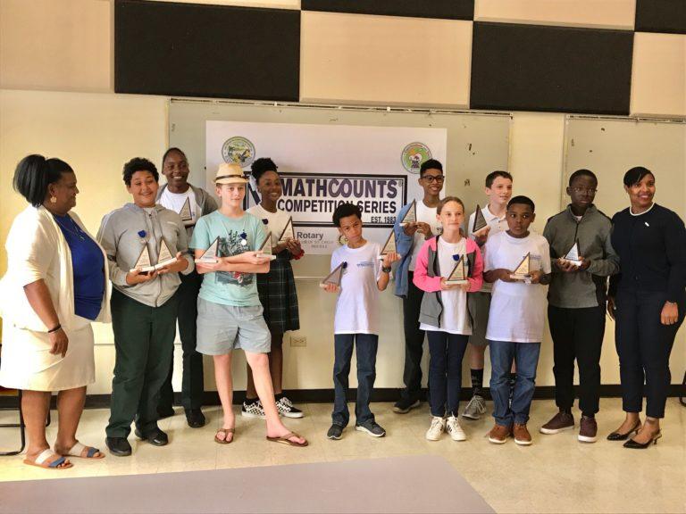 Church of God Academy Ranks No. 1 in STX MATHCOUNTS