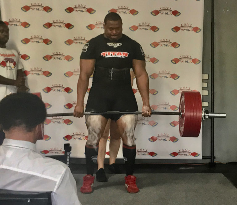 Powerlifters Host Territory's First National Competition
