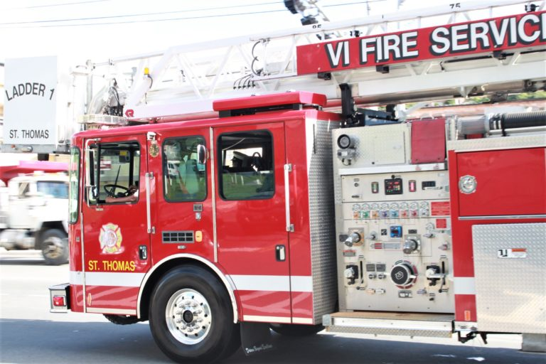 V.I. Fire Service Battles Two STT Blazes That Might be Arson