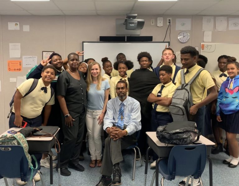 Actress/Director Mika Boorem Shares Filmmaking Experience with JESS Students