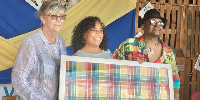 Official USVI Madras Fabric Unveiled in Saturday Ceremony