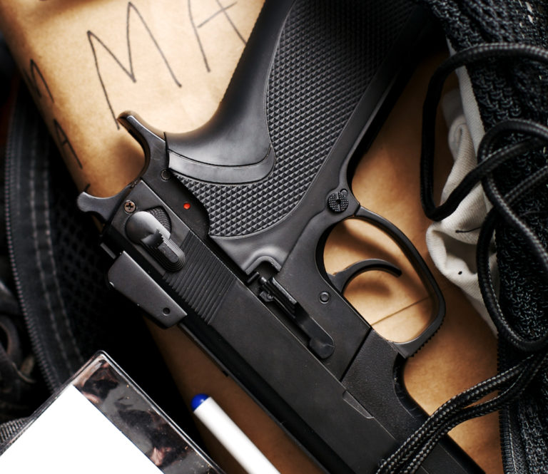 Three Students in Three Schools Arrested with Firearms in February
