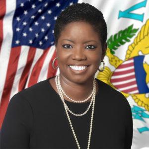 Sen Alicia Barnes (V.I. Legislature photo)