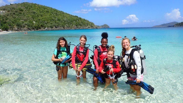 Virgin Islanders Use Youth Explorers Program as Marine Stepping Stone