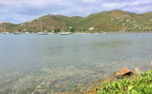 Coral Bay on St. John is one of the communities that will benefit from a battery storage project that will supply power after a storm. (Source photo by Don Buchanan)