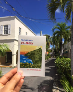 The St. Croix Pocket Map includes a comprehensive guide to St. Croix in a handy format. (Submitted photo by GoToStCroix)