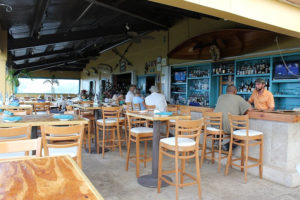 The indoor dining is closed at Blue Water Terrace, and all the other restaurants in the territory, but many are ready to serve you take out food during the novel coronavirus pandemic. (Photo from Blue Water Terrace website)