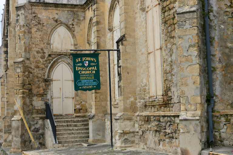 A Silent Easter in Christiansted