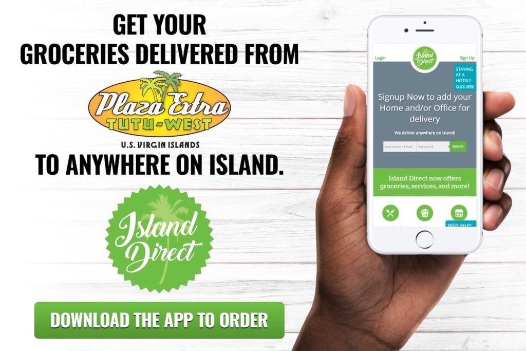 Island Direct users can order fromtheir phones using the company's app. (Submitted photo)