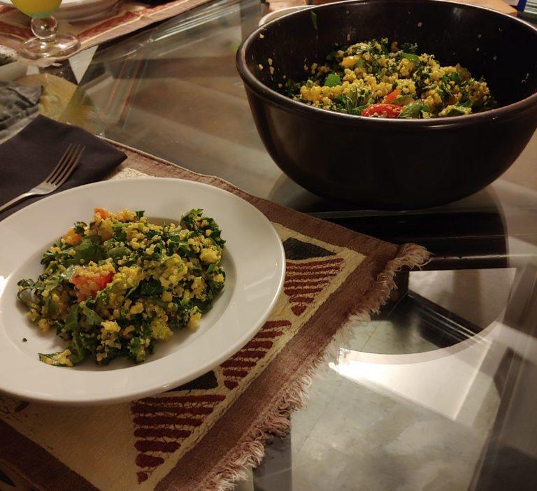 Cooking in the Time of Corona: Quinoa Avocado Salad