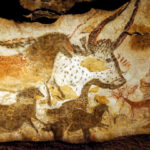 The Lascaux cave drawings in France are an early example of humanity's urge to create.