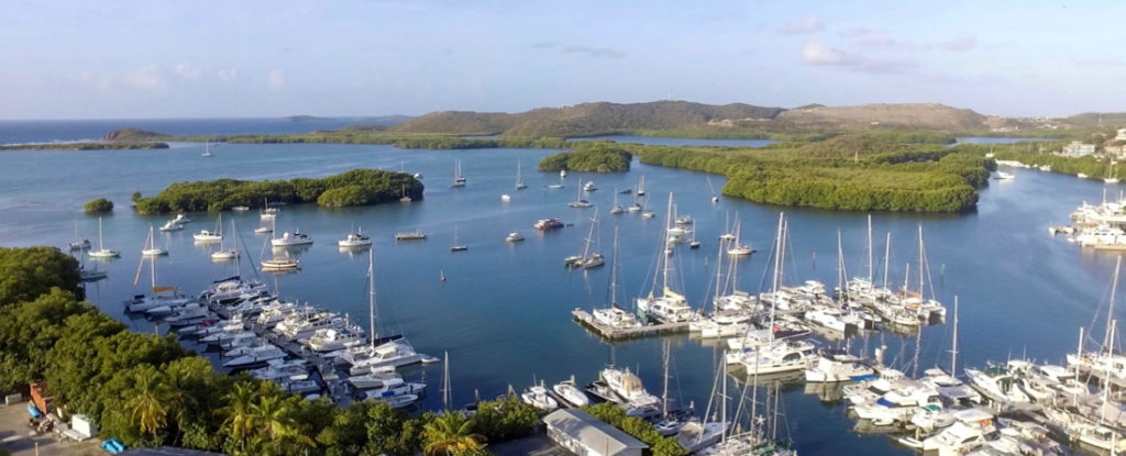 Dream Yacht Charters will be located within the Compass Point Marina in St. Thomas. (Photo submitted by Emily Turner, Dream Yacht Charters)