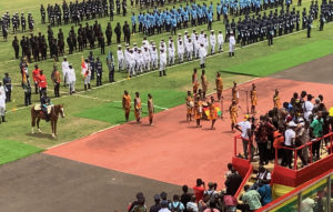 Ghana's 63rd Independence Day celebrations in Kumasi. (Photo provided by the V.I. Department of Justice)
