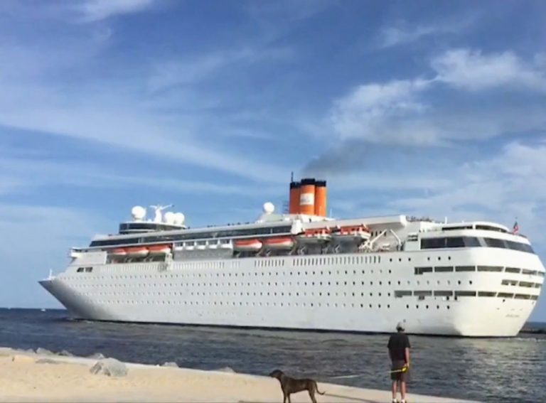 Cruise Line Offers Territory Floating Hospital and Hotel