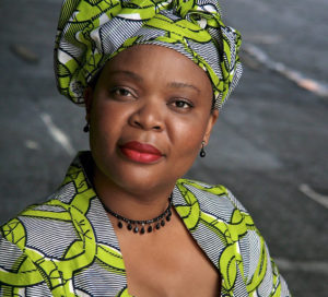 "Leymah Gbowee, subject of ""Pray the Devil Back to Hell,"" which will be shown online by Caribbean Volunteer Services. (Submitted photo)"