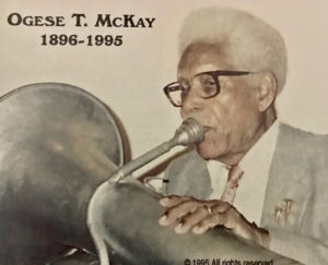 When McKay picked up the tuba, it became his instrument for life. (Source photo by Elisa McKay)