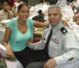 Nicole Canegata and her father Lt. Col. David C. Canegata III. (Photo submitted by Nicole Canegata)