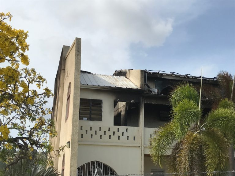 Fire Destroys the Peter's Rest Seventh-day Adventist Church