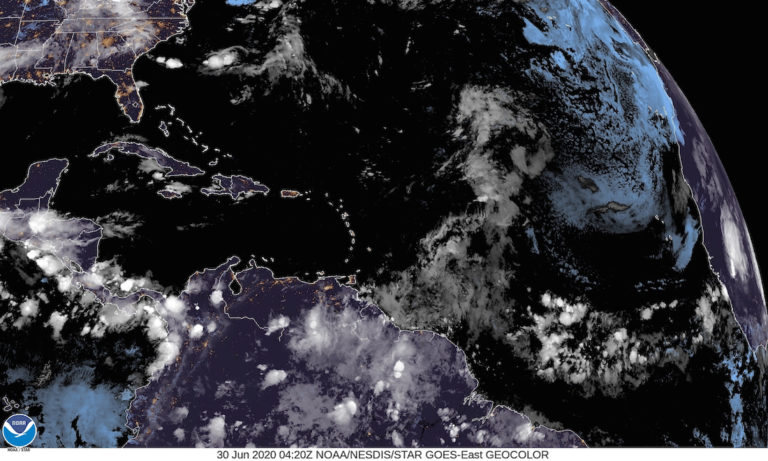 Tropical Wave in Atlantic Shows Little Chance of Developing into Storm