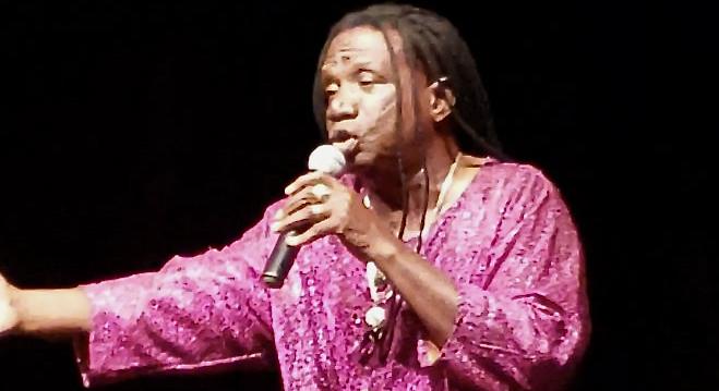 Calypsonian Mighty Pat Records 'I Can't Breathe' and 'Coronavirus'