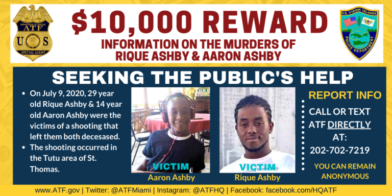 VIPD Appeals to Community for Information on Ashby Double Homicide