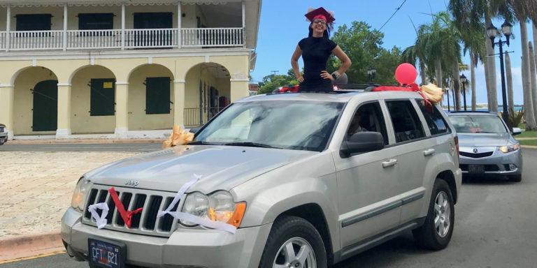 STX Motorcade Celebrates 2020 High School Graduates