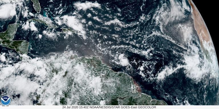 TS Gonzalo Approaching Southern Windward Islands