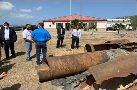EPA Orders Fix to STX Sewer Line Leaking Hydrogen Sulfide
