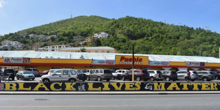 New Mural Reminds Community That Black Lives Matter at Home and Abroad