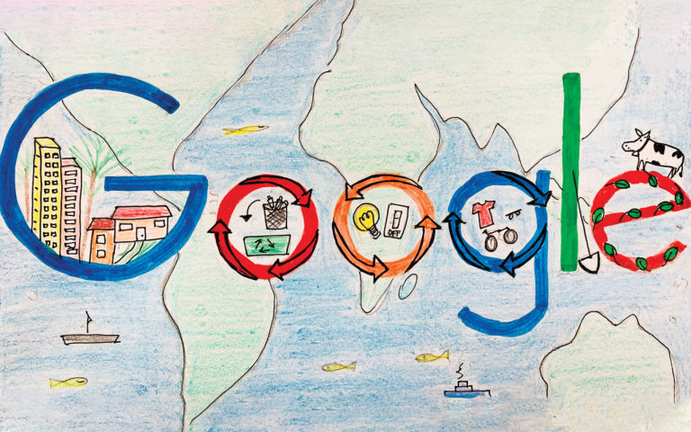 Antilles Student Makes it to Finals of Doodle for Google Contest
