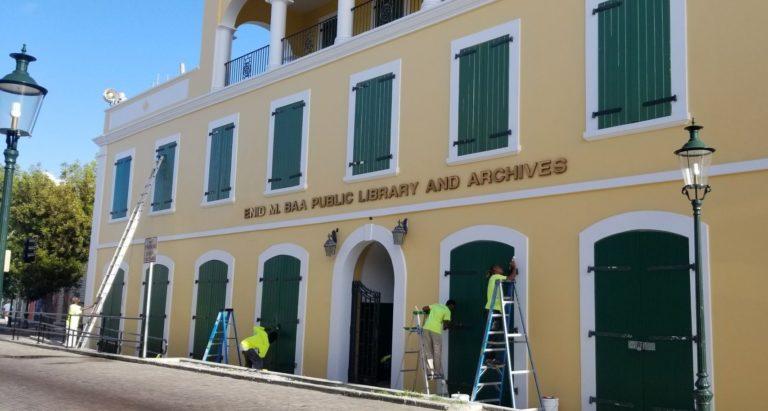 Enid Baa Library Gets $705K for Renovation, Restoring Archives